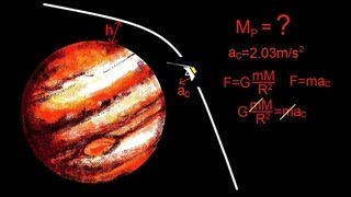 Physics - Mechanics: Gravity (7 of 20) Determine The Mass Of a Planet With A Flyby