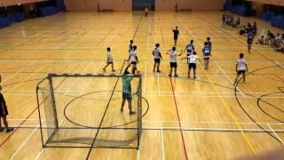 學界手球在中山紀念公園體育館