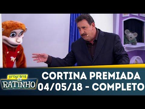 Cortina Premiada - Completo | Programa Do Ratinho (04/05/18)