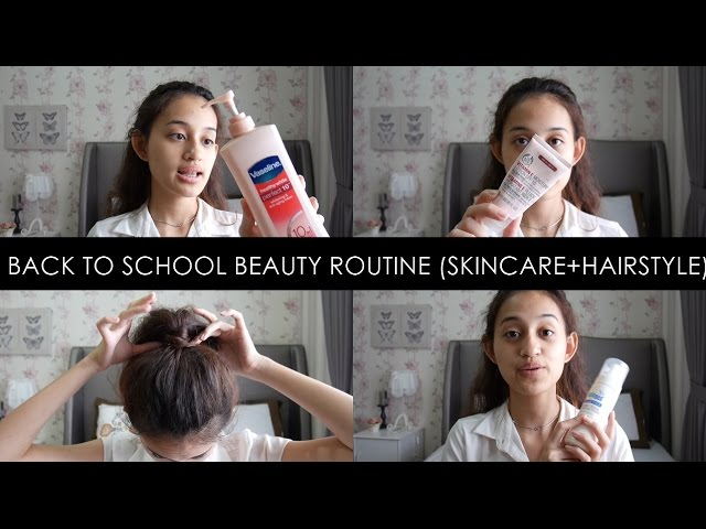 BACK TO SCHOOL : Beauty Routine | Tips, Product Recommendation, Hairstyle | Nadya Aqilla | Indonesia