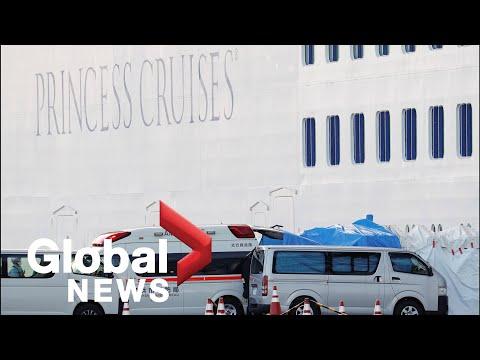 Coronavirus outbreak: 2 Canadians test positive aboard quarantined cruise ship in Japan