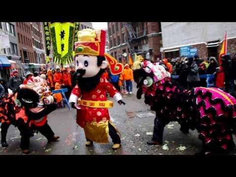 2017 Boston Chinatown --Chinese New Years Parade