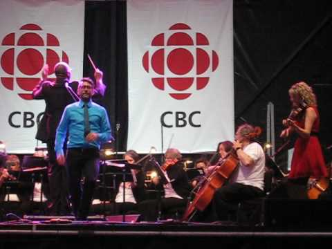 Mac Morin Stepdancing with Natalie MacMaster Tall Ships 2017 Halifax, NS 7/29/17