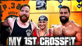 Ep.38 Rusev Tries CrossFit Challenge Workout...