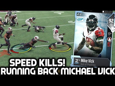 MICHAEL VICK AT RUNNING BACK! SPEED KILLS! Madden 18 Ultimate Team
