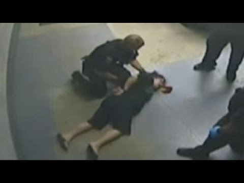 Warning, graphic content: Woman claims police brutality