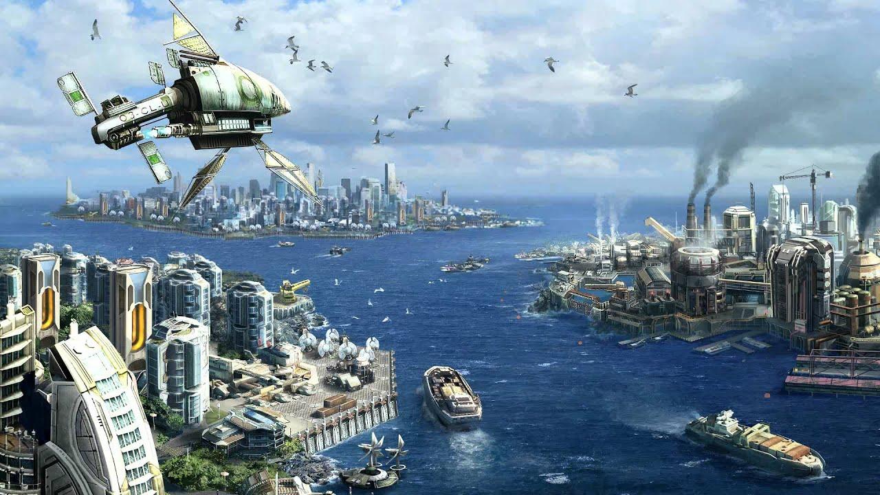 Anno 2070 soundtrack project earth main theme youtube for Anno 2070 find architect