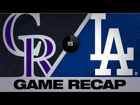 Pollock's 3-run smash leads Dodgers in win | Rockies-Dodgers Game Highlights 9/20/19