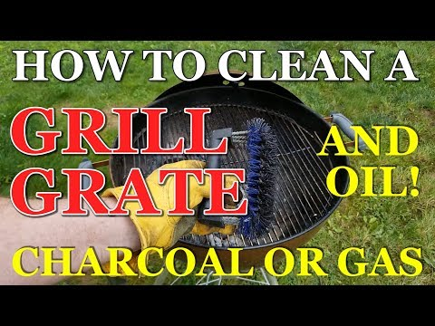 How to Clean and Oil a Grill Grate