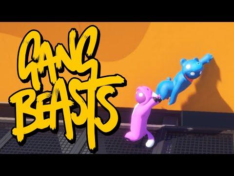 видео: Gang Beasts - ОХРИП ОТ СМЕХА (Брейн и Даша)