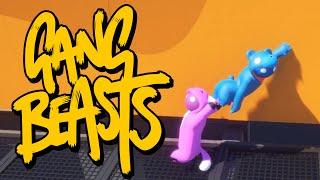 Gang Beasts - ОХРИП ОТ СМЕХА (Брейн и Даша)