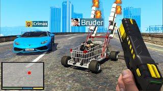 kleiner BRUDER klaut AUTOS in GTA 5 RP!