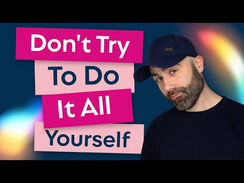 Web Design: Don't Try To Do It All Yourself - #SSSVEDA #VEDA