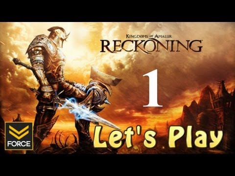 Kingdoms of Amalur: Reckoning - The Awakening (Gameplay/Commentary) Let's Play 1