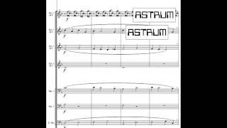 Damijan Močnik : TIHA ZEMLJA (SILENT EARTH)  for soloist (ad lib.) and Two-part Choir + Brass