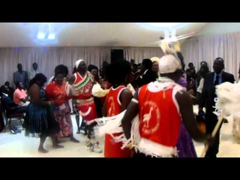 Aweil Team, Traditional Dancing, During A.F.C.C. Conference Party in Calgary AB, August 2, 2015