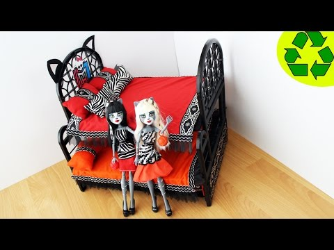 how to make monster high beds