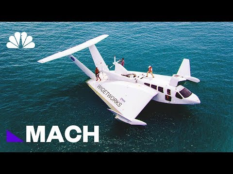 Floating On Air: This Boat-Plane Hybrid Could Revolutionize Traveling By Sea | Mach | NBC News