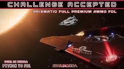 A Prismatic Full Premium Ammo Phasing FdL challenged me (highlights) | Elite Dangerous PvP