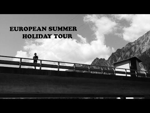 Dwindle European Holiday skateboarding video