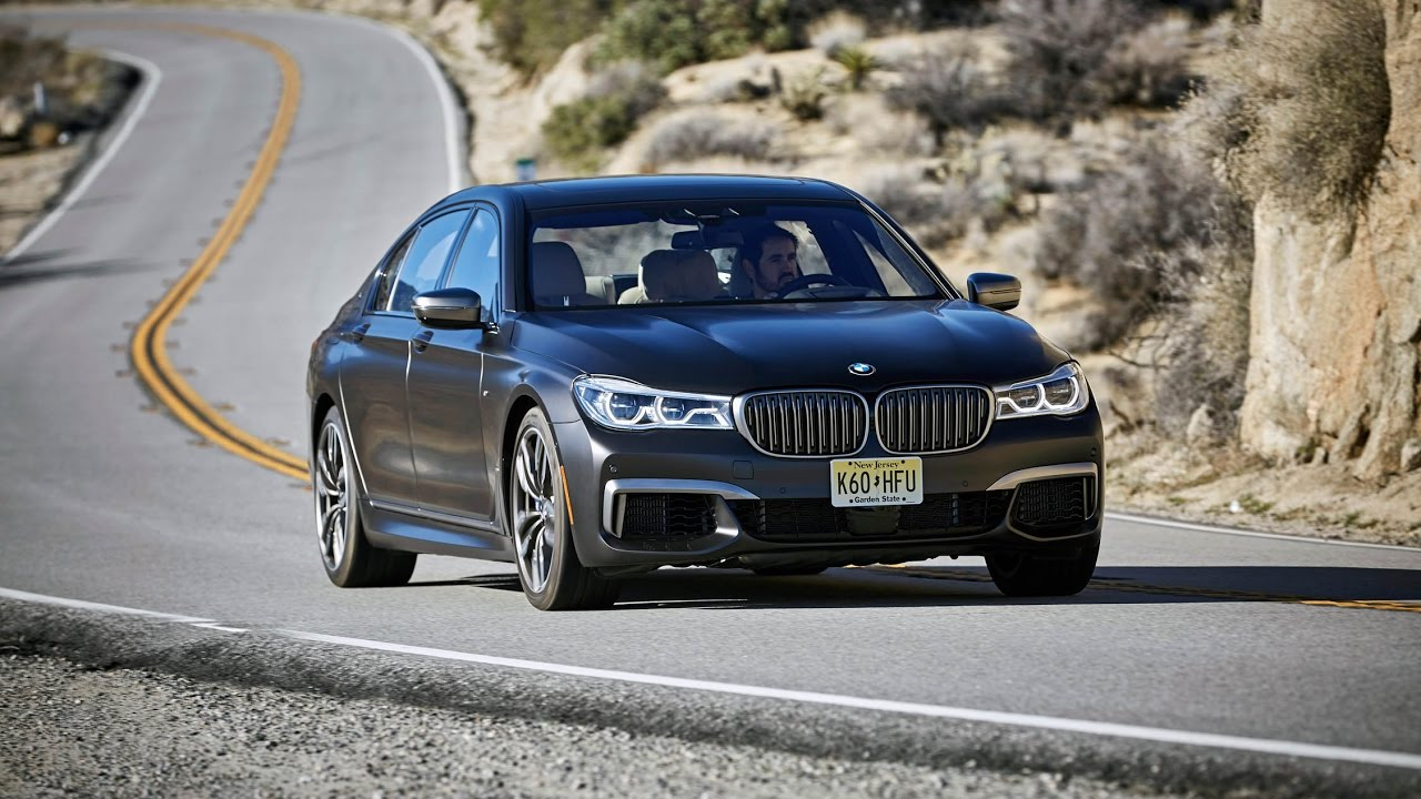 System Auto Dimension 2017 BMW M760i XDrive Manual On The Road