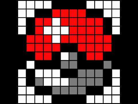 Minecraft Pixel Art Template Pokeball - Youtube