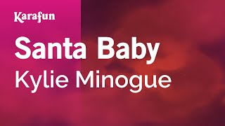 Karaoke Santa Baby - Kylie Minogue *