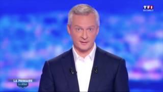 Bruno Le Maire BLM Le choix de la primaire !
