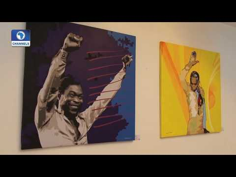Original Album Art Works Of FELA KUTI Go On Display In Lagos | EN |
