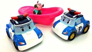 Машини Іграшки: СМАРТА, Робокар Полі і машинки.