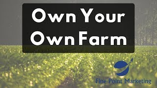 Own Your Own Farm   Importance Of An Email List   Fine Point Marketing