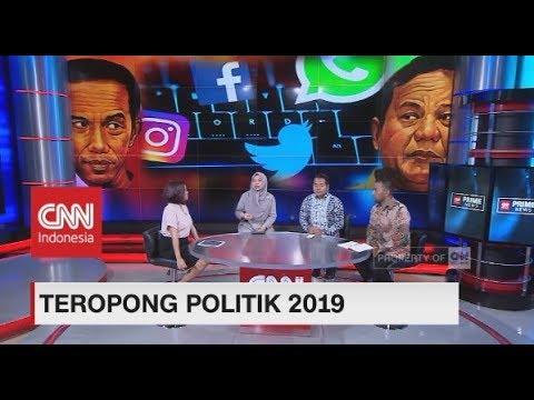 Pengamat: 2019 Perang Tagar Makin Panas, Jokowi-Prabowo Diramalkan Pasang Strategi 'Total Football'