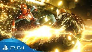 Marvel Человек-Паук | Трейлер игрового процесса с E3 2018 | PS4