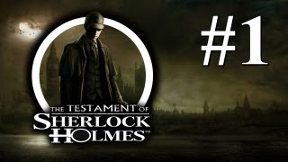 The Testament of Sherlock Holmes - Playthrough #1 [Detonado PT-BR]