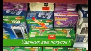AQA.com.ua - Аквариумные и Зоотовары - Выкладка товара