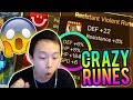 10x Rune Pack Opening! - Runes Gone WILD! ft. Awizardneedsabeard - Summoners War
