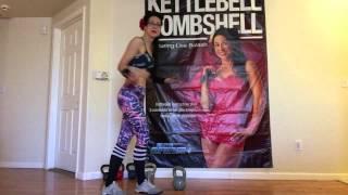 Kettlebell Bombshell workout Intermediate