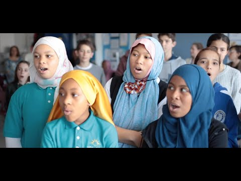 """Cousins in the Classroom: """"Pangea"""" by Pressman Academy & Islah Academy & Distant Cousins"""