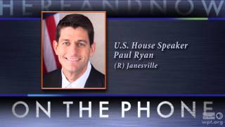 Here and Now: Speaker Paul Ryan on the Presidential Election