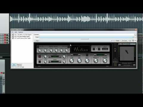 How To - Guitar Metal Tone (only with freeware vst plugins)