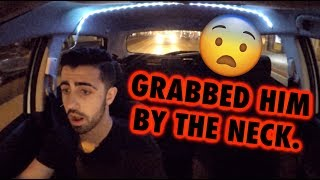 HE GOT INTO A FIGHT!! (Funny Uber Rides)