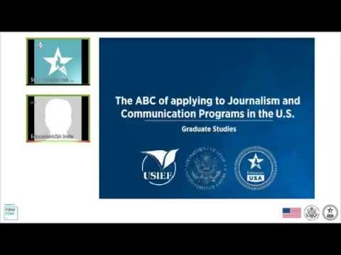 Programs in Media Studies and Journalism in the U.S.