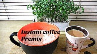 How to make instant coffee premix powder/ coffee anywhere/drink/ coffee mix/ ready-made coffee powde
