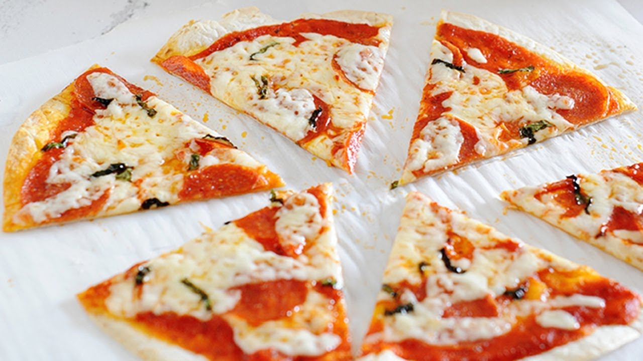 Tortilla Pizza Recipe Toaster Oven Pizza Oven Methods Youtube