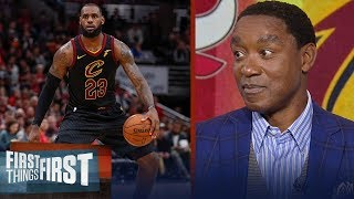 Download Isiah Thomas joins Nick and Cris to talk M.J. vs LeBron, Kyrie's handles | FIRST THINGS FIRST Mp3 and Videos