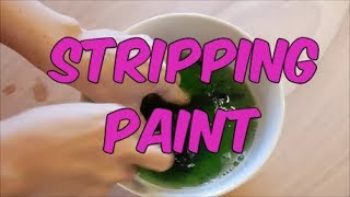 How to Paint Miniatures - Stripping Paint