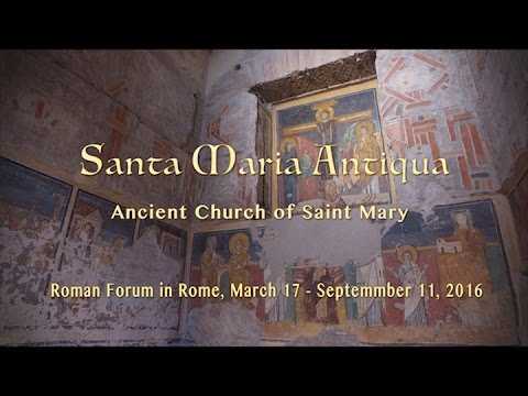 Santa Maria Antiqua Church in the Roman Forum