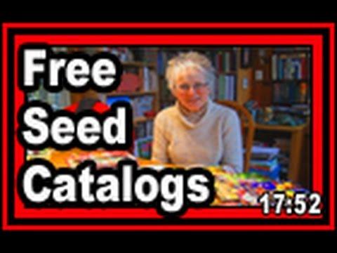 Free Seed Catalogs - Wisconsin Garden Video Blog 669
