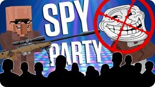el maestro del disfraz spy party   minecraft con luh
