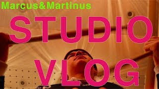 Marcus&Martinus – Vlog from studio 2019!